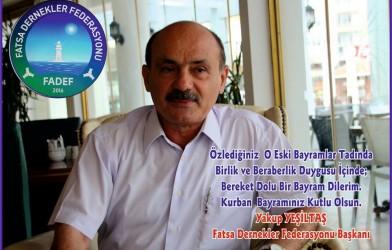 Federasyon Başkanımızın Bayram Mesajı