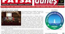 YAKUP YEŞİLTAŞ GÜVEN TAZELEDİ – Fatsa Güneş Gazetesi