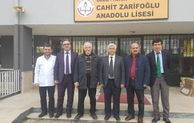 Federasyon Başkanımızdan Okul Ziyaretleri