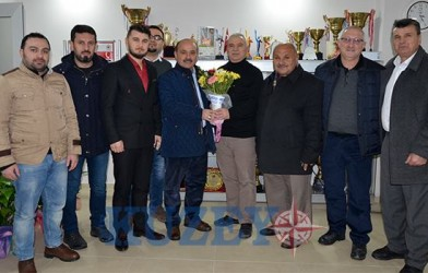 FADEF Mir Kuzey Gazetesini Ziyaret Etti