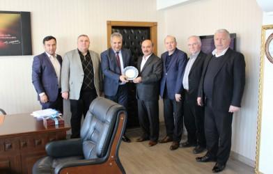 Federasyonumuzdan Fatsa Kaymakamı Mehmet Yapıcı'ya Ziyaret