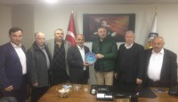Borsa Başkanı Ali Fevzi Beyi Ziyaret