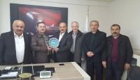 Fatsa Giyim Odası ve Fiskobirlik Başkanlarını Ziyaret