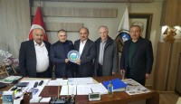 Fatsa Esnaf Kefalet Kooperatifi Başkanı'na Ziyaret