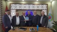 Fatsa Ziraat Odası Başkanı Ziyaret Edildi