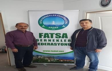 Fatsa Ticaret Lisesi Müdüründen Federasyonumuza Ziyaret