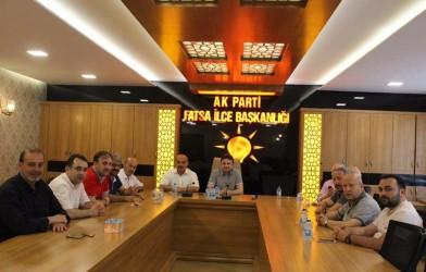 Federasyonumuzdan Siyasi Parti Ziyaretleri