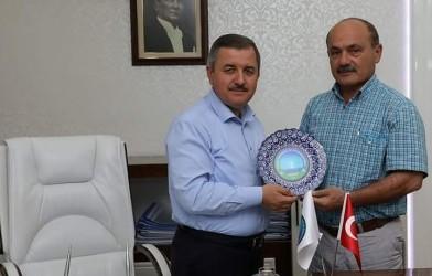 FADEF , Fatsa Belediye Başkanı Hüseyin Anlayan'ı Ziyaret etti