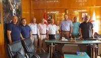 Çamaş Belediye Başkanına Ziyaret