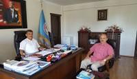 Yeni atanan, Fatsa İlçe Milli Eğitim Müdürü Saygın ATİKKAYA'ya Ziyaret