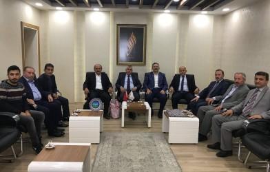 Aybastı Belediye Başkanı Sayın İzzet AYDOĞAR'a Ziyaret