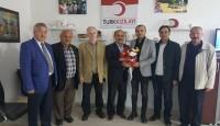 Fatsa Kızılay Şube Başkanı Erdi ŞERKETOĞULLARI' na Ziyaret