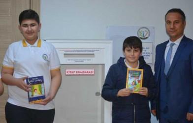 """Fatsa'da """"Kitap Kumbarası"""" Projesi Başlatıldı"""