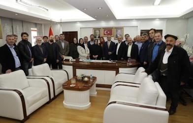 FADEF; Fatsa Belediye Başkanı İbrahim Etem KİBARI ziyaret etti.