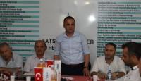 Fatsa Belediye Başkanı  Federasyonumuza iadeyi ziyarette bulundu.