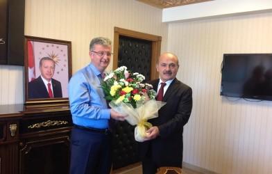 Federasyonumuzdan Yeni Atanan Fatsa Kaymakamı Ömer Lütfi YARAN'a Ziyaret