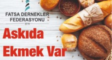 FATSADA ASKIDA EKMEK SAHİPLENİLDİ