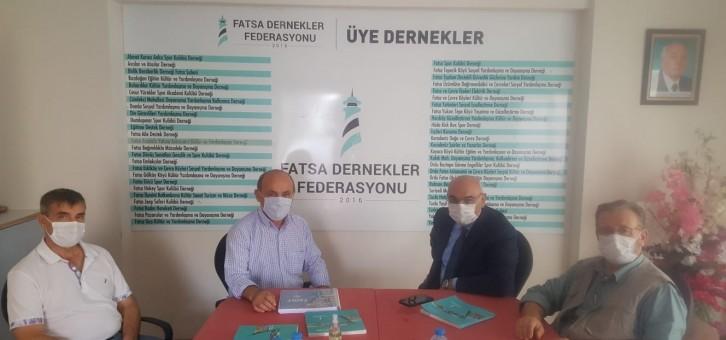 YEDİYILDIZ FADEF'İ ZİYARET ETTİ.