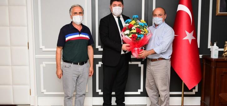 Altınordu Belediye Başkanı Aşkın TÖREN'e ziyaret