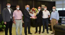 Federasyonumuzdan (OMÜ) Rektörü Prof. Dr. Yavuz Ünal'a hayırlı olsun ziyareti