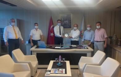 Tarım Kredi Kooperatifleri, Samsun Bölge birliği başkanı Sayın Erol APAYDIN'A ziyaret